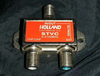 Holland STVC Satellite TV Diplexer Combiner DirecTV Dish Network Approved