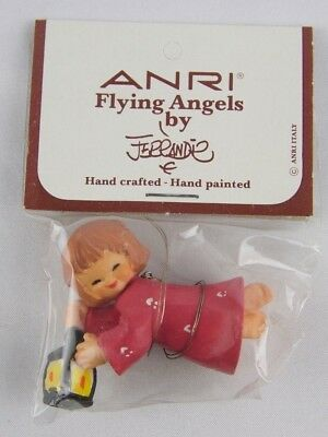 VTG -ANRI Flying Angels by FERRANDIZ-HAND PAINTED/CRAFTED-ITALY-SIGNED-NEW-IOP!