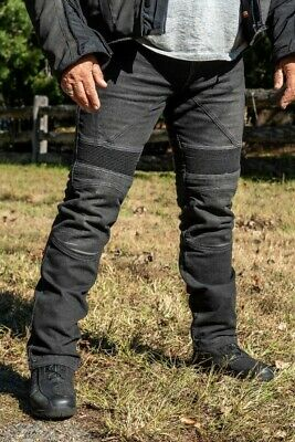 RHOK S1 Skinny Motorcycle Jeans with DuPont™ Kevlar® + CE armour knee/hip