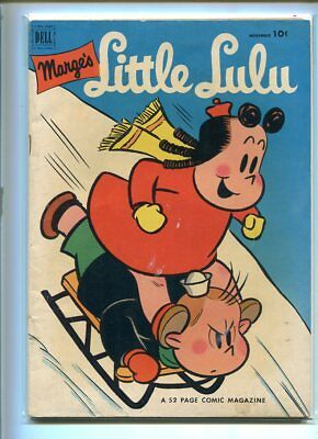 Marges Little Lulu #53 Solid Grade Hilarious Cover Dell Gem