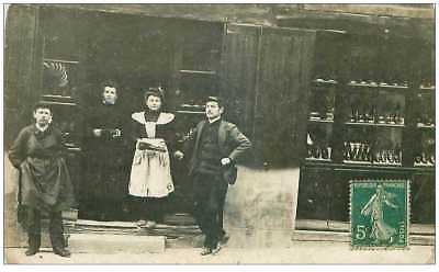 43.le Puy En Velay.n°27693.cp Photo.commerce.marchande De Chaussures