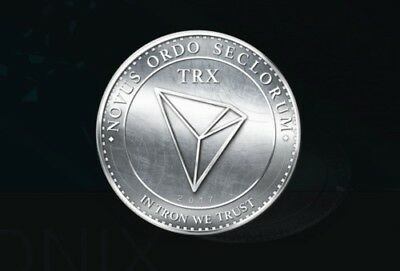 Instant Delivery 500 TRON (TRX) Crypto currency -  ID required. -TOP 10 Currency