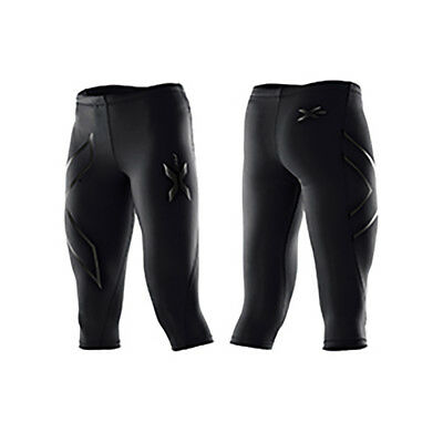 2XU Women's 3/4 Compression Tights Black/Nero L
