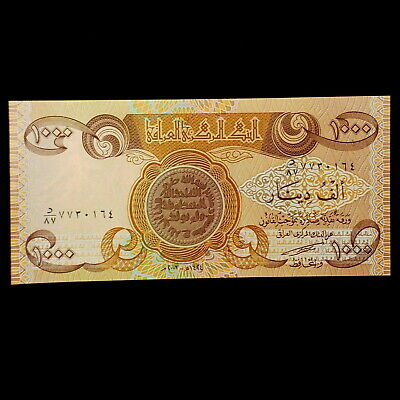 1,000 Iraqi Dinar (1) 1,000 Note Uncirculated!! Authentic! Iqd!@