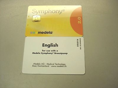 Medela Symphony 2.0 Program Card - English