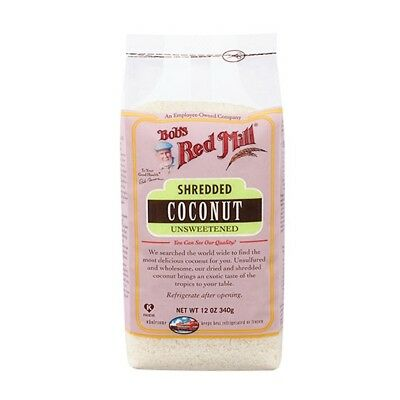 Bob's Red Mill Unsweetened Shredded Coconut 4 (12 oz.) bags
