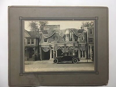 EARLY PACKARD AUTOMOBILE 1920s DEALER PHOTO ANTIQUE PHOTO