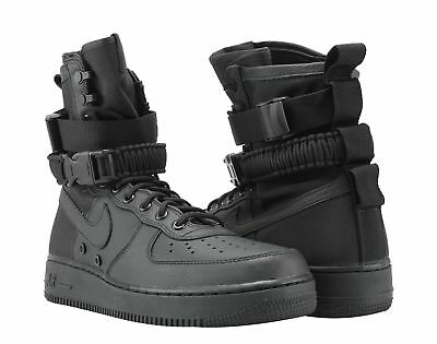 watch 86fa5 56208 Nike SF AF1 Air Force 1 Special Forces Triple Black Men s Shoes 864024-003