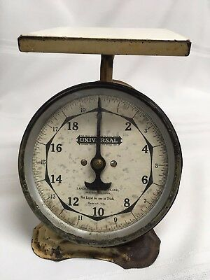 Vintage Landers Frary& Clark Universal Household Scale(0-20 lbs)unique scale