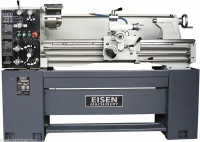 "EISEN 1440E 14"" x 40"" Precision Engine Lathe with DRO, Made in Taiwan, 220V 3PH"