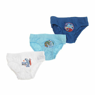In The Night Garden Childrens/Boys Iggle Piggle Cotton Briefs (Pack Of 3)