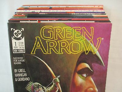 GREEN ARROW #1-25 + Longbow Hunters 1-3 Complete Set Comic Lot Mike Grell DC