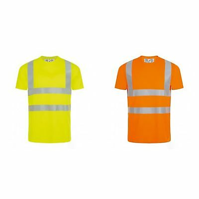SOLS Mens Mercure Pro Hi-Vis T-Shirt (PC2833)