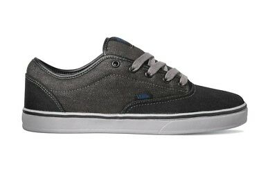 1e2e1eea2b VANS AV ERA 1.5 Black Light Grey Men s Classic Skate Shoes 6.5 ...
