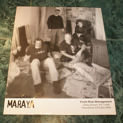 Maraya 8 X 10 Glossy Official Promo Picture 1998 Very Rare Htf Oop Near Mint