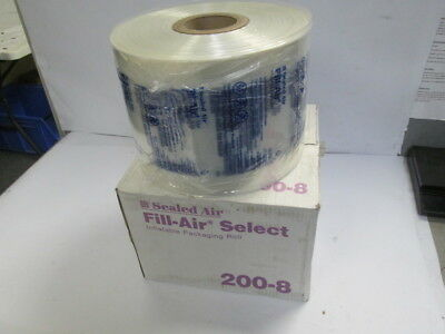 "Sealed Air 200-8 Fill-Air Select 8"" x 8"" Inflatable Packaging Roll 2900' Bubble"