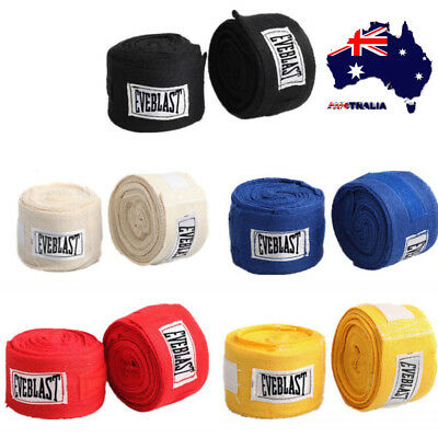 AU 3M Boxing Hand Wraps Boxing Bandages Wrist Protect Fist Sport Training Strap