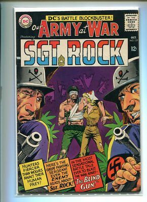 Our Army At War #159 Solid Grade Dramatic Cover Gem