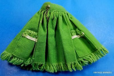 * Ideal Tammy Doll Green Skirt Excellent ~ Vintage 1960's *
