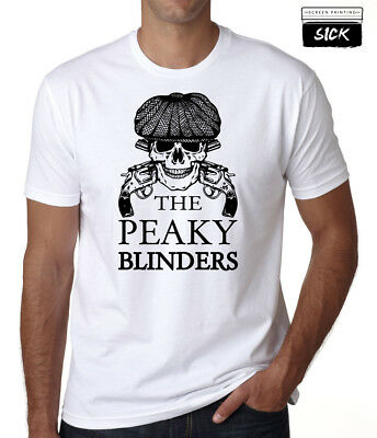 By Order Of The Peaky Blinders T Shirt Skull Tommy Shelby Company Pub Top New