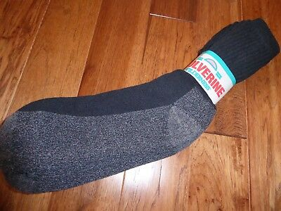 Men's Wolverine Wilderness Socks ~ Nwt~ Made In The Usa!!!