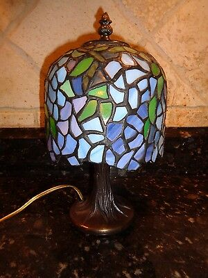 Stained Glass Entry Way  Lamp