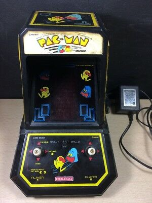 Vintage 1981 Coleco Midway's Pac-Man Electronic Game Perma Power
