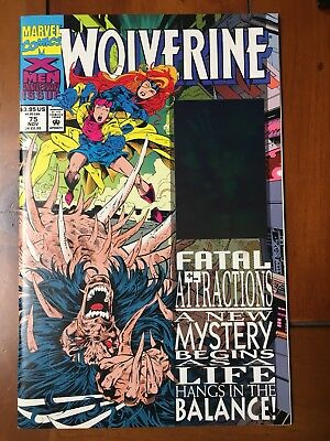 Wolverine #75, Fatal Attraction. Hologram Cover.
