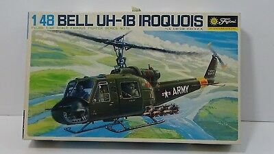 BELL UH-1B IROQUOIS FUJIMI 1/48 Scale Model Helicopter Kit #E14
