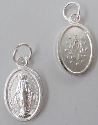 "Miraculous Medal  Catholic Religious Medal    3/4"" Size for Adding to Scapular"