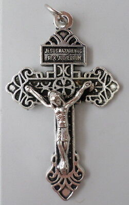 "Pardon Crucifix ~ Pius X Plenary Indulgence 2 1/4"" Beautiful Catholic Tradition"