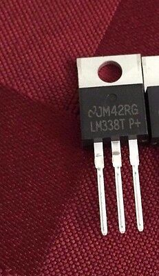 5X LM338T Voltage Reg, 1.2V To 32V, To-220- 5A LM317 Replacement