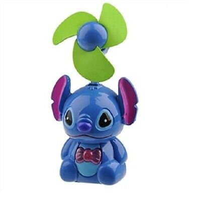 Lilo & Stitch Tabletop Portable Battery/USB Powered Kid LED Personal Cooling Fan