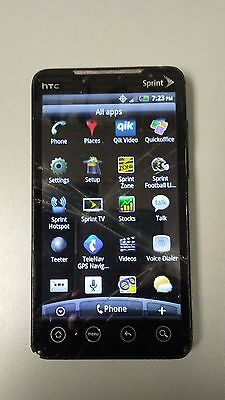 HTC Evo 4G PC36100 Sprint Smartphone  (racked Screen