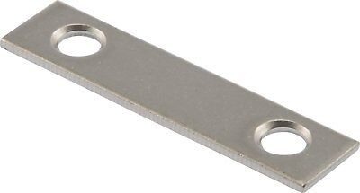 The Hillman Group 592578 Mending Plate, Zinc, 2-Inch, by 1/2-Inch, 4-Pack