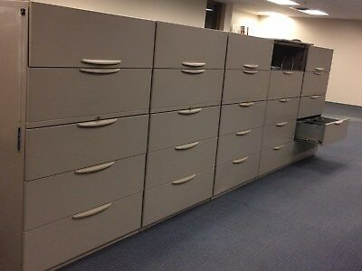 Five (5) Drawer Lateral Files - $50.00 (used)