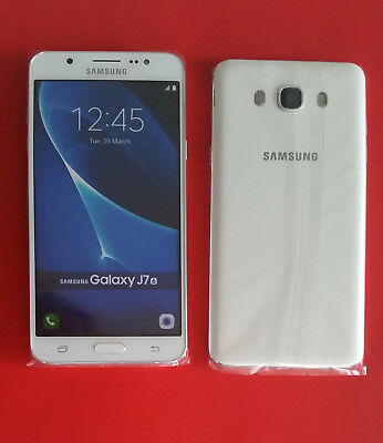 Samsung Galaxy J7 2016 in Weiß Handy Dummy Attrappe - Requisit, Deko, Werbung