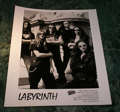 Labyrinth  8 X 10 Glossy Official Promo Picture 1998  Rare Htf Oop Mint