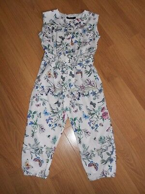 Autograph Floral & Birds Playsuit 2-3 Yrs *brand New*
