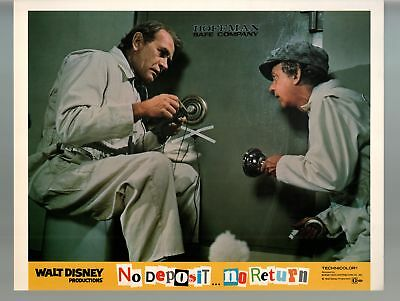 No Deposit, No Return-Don Knotts-Darren McGavin-11x14-Color-Lobby Card-Disney