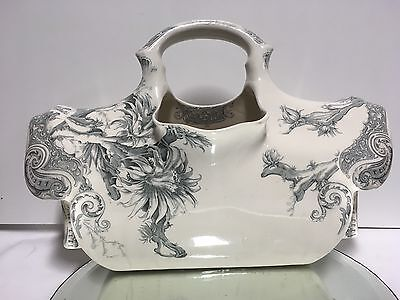 Rare1800s DOULTON BURSLEM PERTH English Pottery TOILET OR FLOWERS POT NOW!