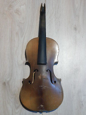 alte Geige Violine 4/4 violin fiddle 小提琴 violon Defekt PROJEKT Bastler parts