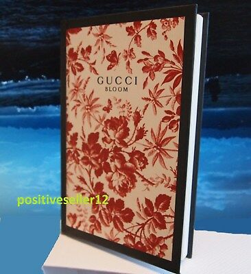 """Gucci Bloom NOTEBOOK from fragrance women collection 7"""" x 4.3"""" organizer paper"""