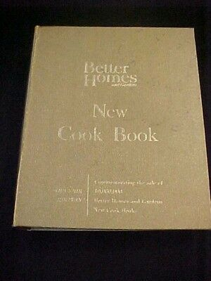 Vintage Antique Old Gold Edition 1965 Better Homes & Garden New Cookbook Recipes