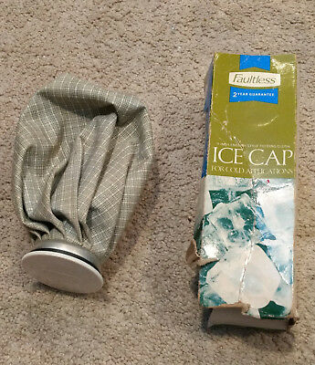 Faultless Ice Cap 9 Inch Englsh-Style Folding Cloth Cold Pack-Retro/Old School