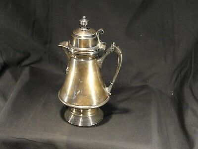 Antique Wilcox Silverplate Co. Quadruple Plate Silver Syrup Pitcher Patent 1878