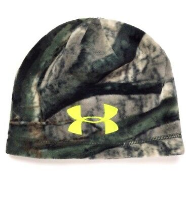 UNDER ARMOUR Scent Control Infrared Mossy Oak Camo Youth Beanie O/S $27.99