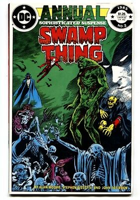 Swamp Thing Annual #2-High Grade DC JUSTICE LEAGUE DARK 1984 NM-
