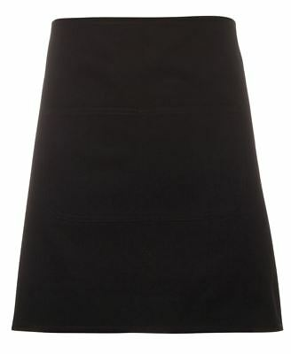 JB's wear Heavy Weight Canvas Waist Cotton Apron w/ Front Pocket for Cafe's Bar
