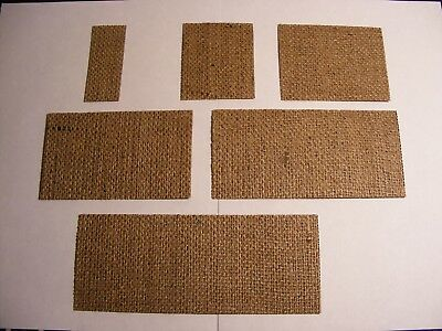 Medal Mounting Buckram Double starched Hessian Good Quality Full Size